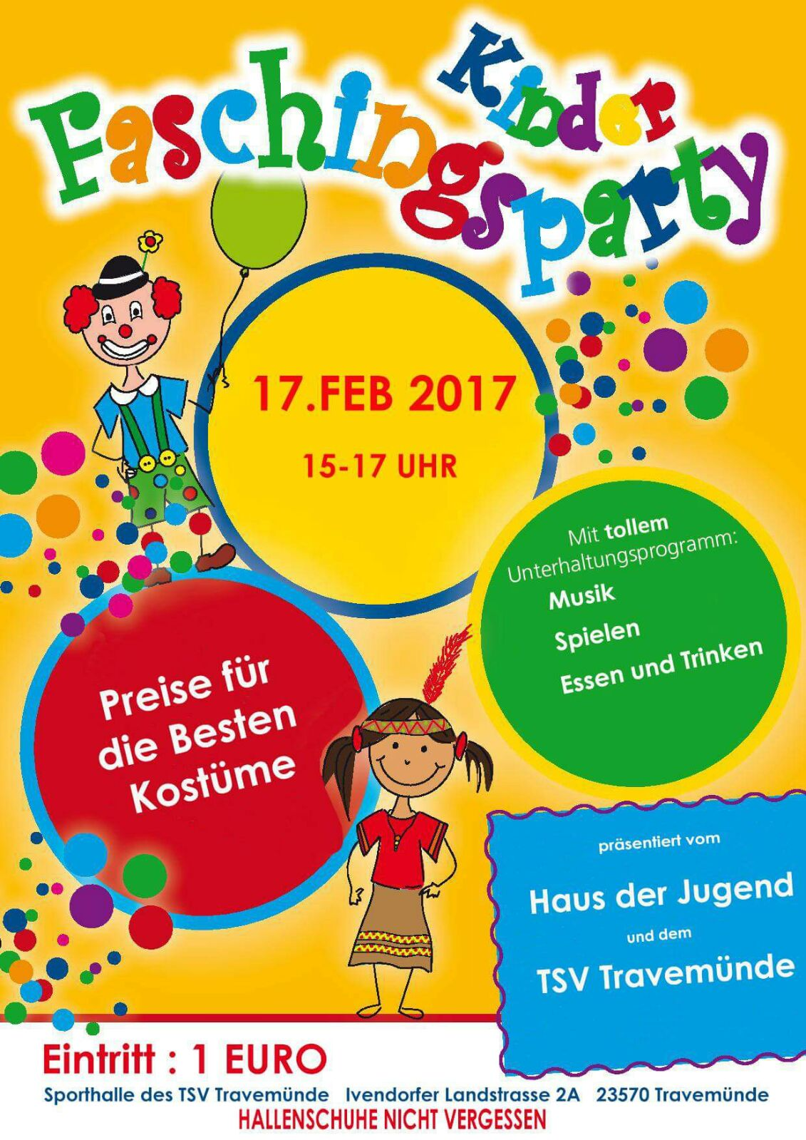 20170130 Kinderfasching 2017