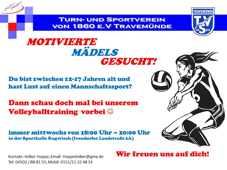 20170211 Flyer fuer Jugendtraining 2017