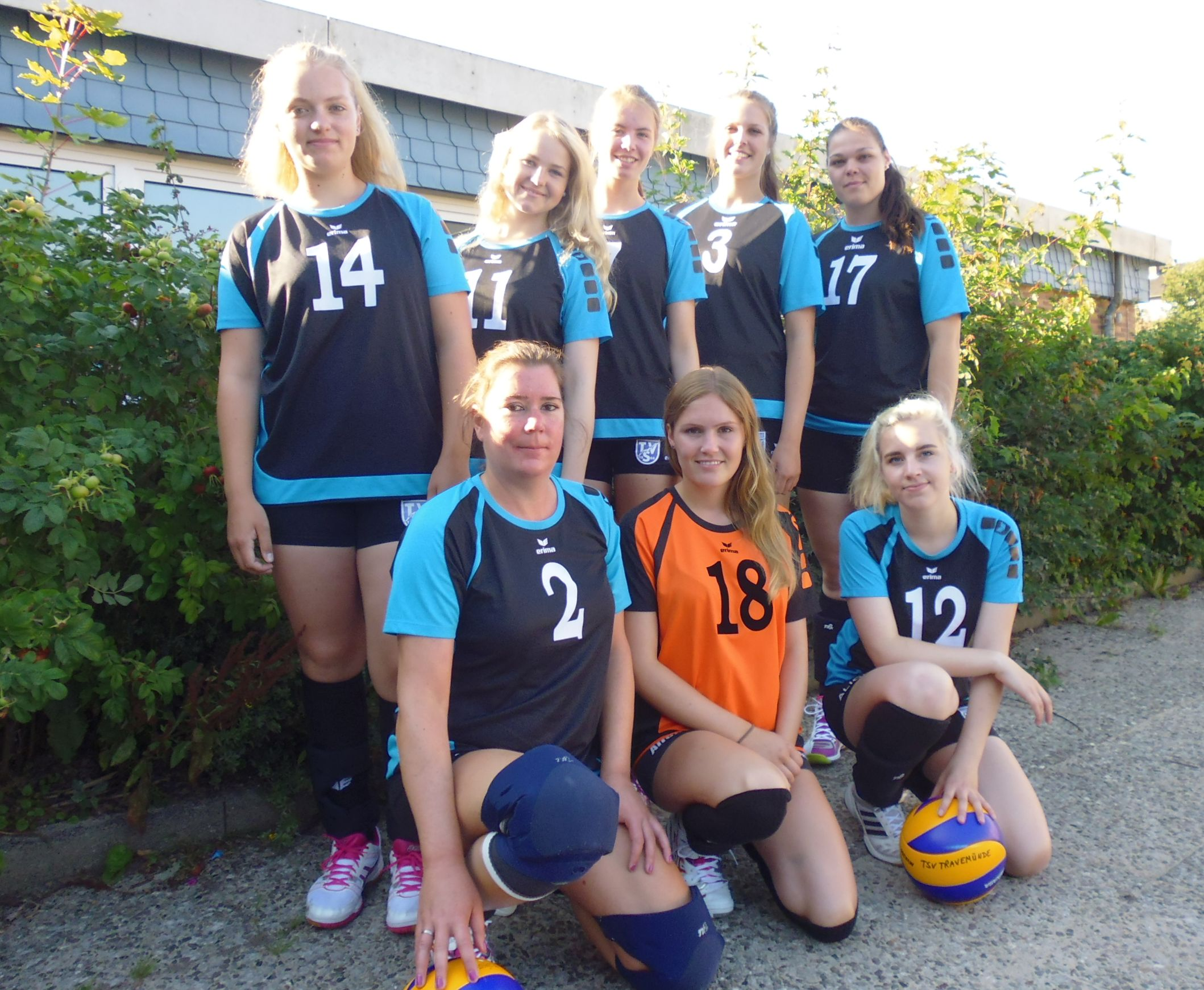 20150823 Damenteam Saison 15 16 Bild1
