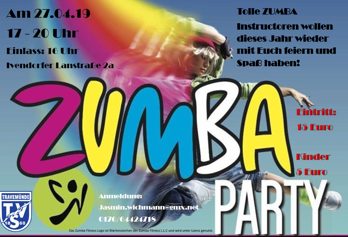 20190206 Zumba Party Flyer